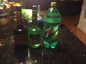 7Up, Buttershots, and Sour Apple